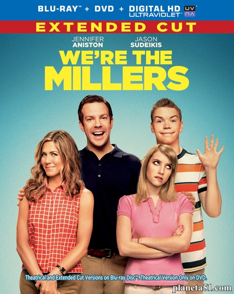 Мы – Миллеры / We're the Millers [EXTENDED & Theatircal] (2013/BDRip/HDRip)