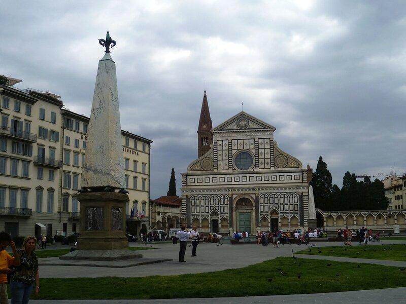 Италия. Флоренция. Церковь Санта Мария Новелла (Italy. Florence. Church of Santa Maria Novella).