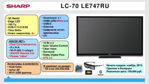 lcd телевизор sharp форум: