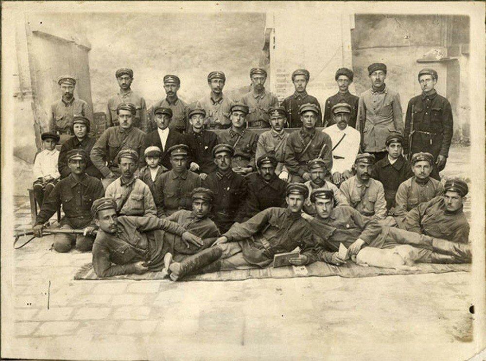 1922. Группа бойцов милиции