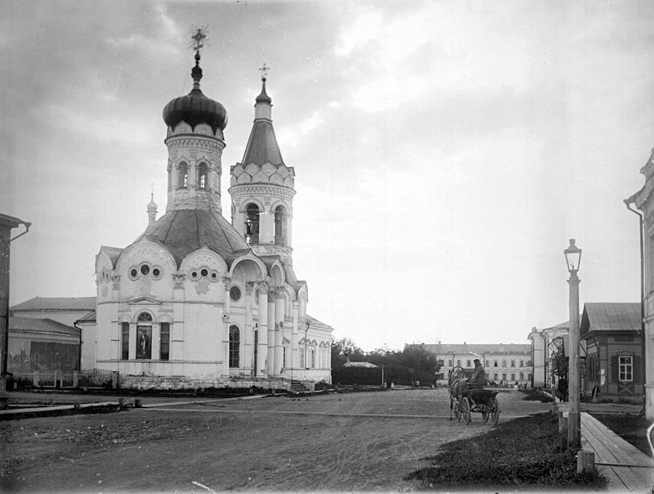 Никольская церковь. Наружный вид. 1894 г.