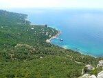 Вид с Ласпинского перевала Крым