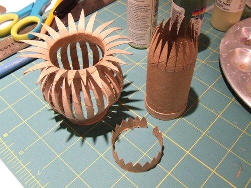 Поделки из бумаги своими руками фото вазы