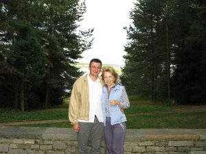 С тётей Ирой