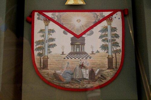 Запон (фартук) масонский