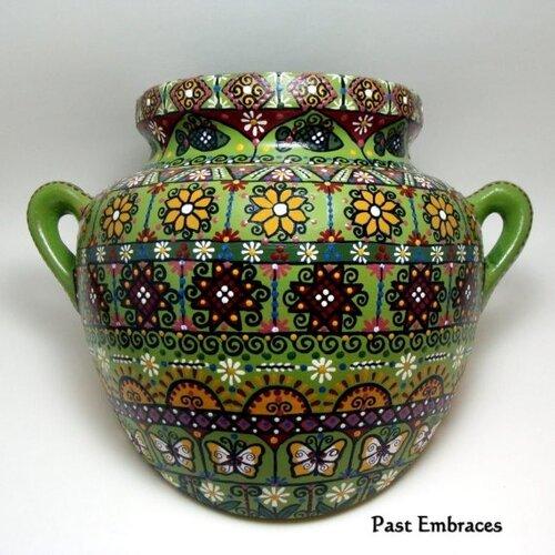 Ручная роспись посуды