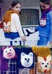 ...в категории Схемы вязания женских шапо и Схемы цветного вязания.