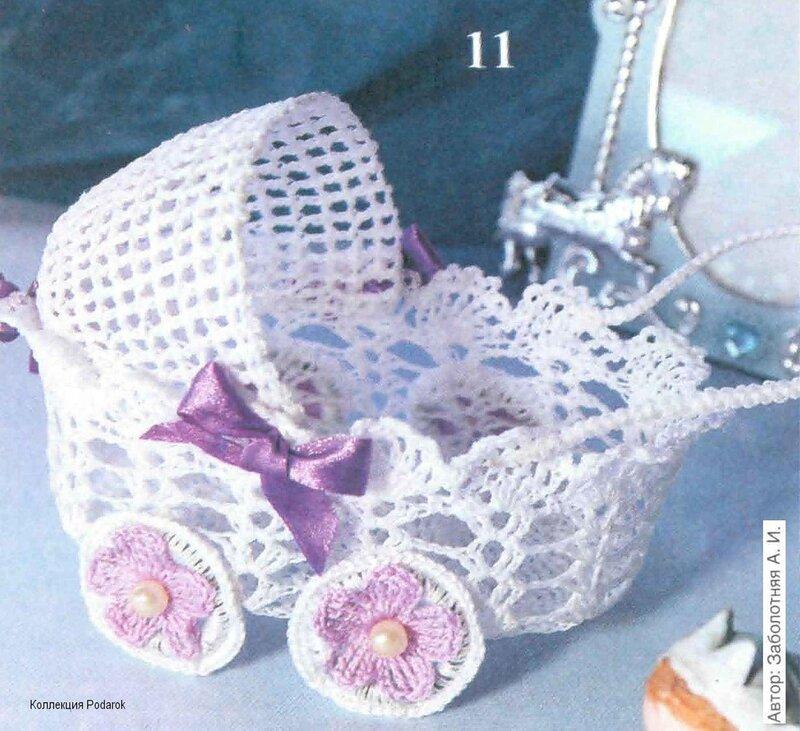 коляски крючком - Самое