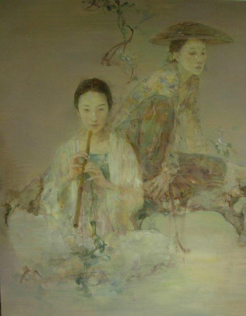 Автор картины Hu Jun Di