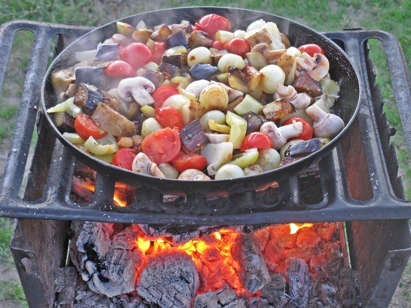Блюда на костре рецепты пошагово 128