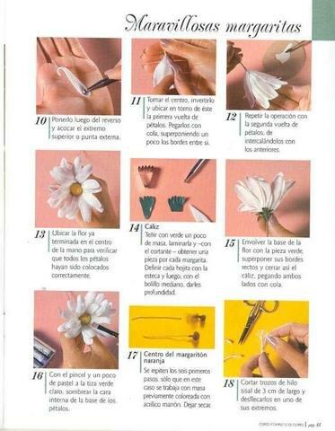 лепка цветов
