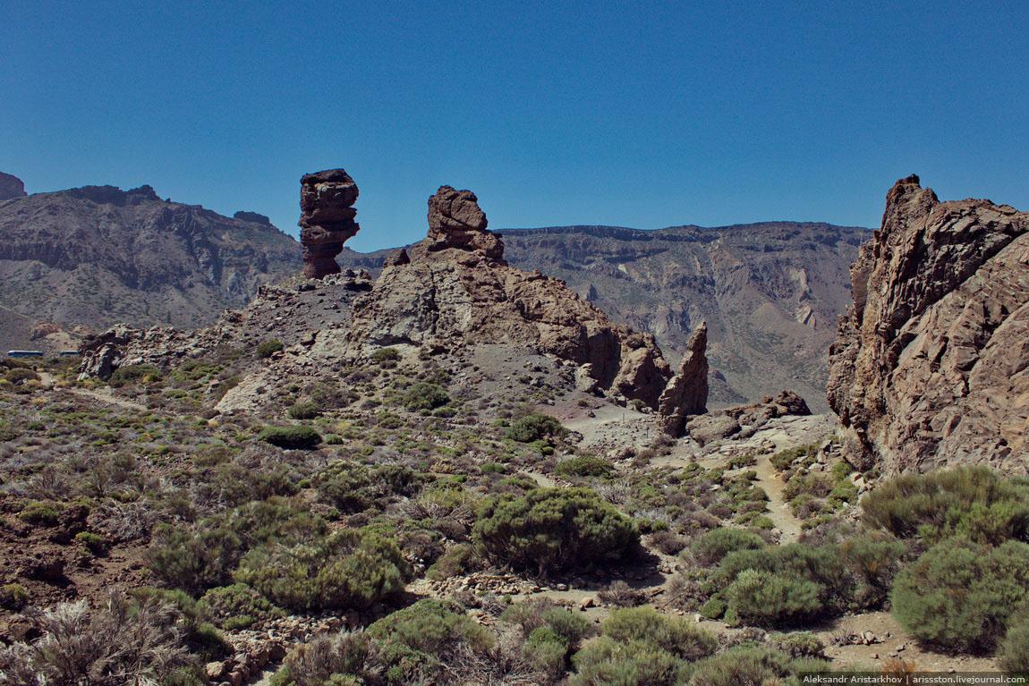 Путешествие по Тенерифе: День 3: Палец бога