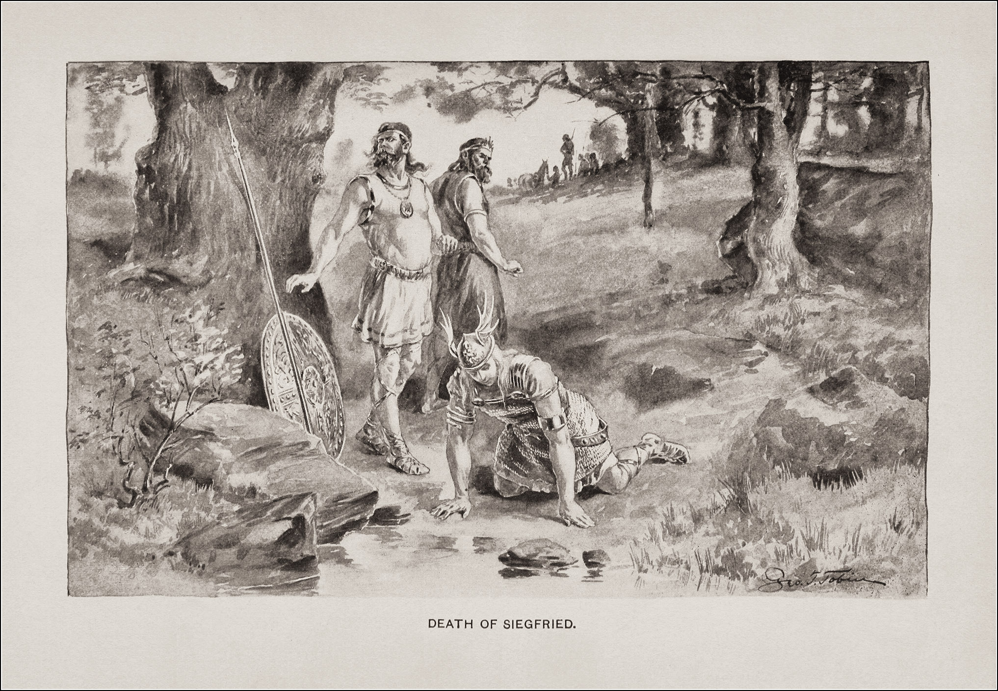 George Timothy Tobin, Siegfried and Beowulf