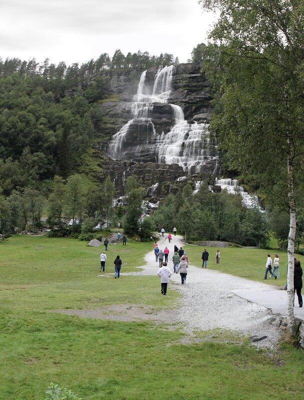 водопад Твиндефоссен