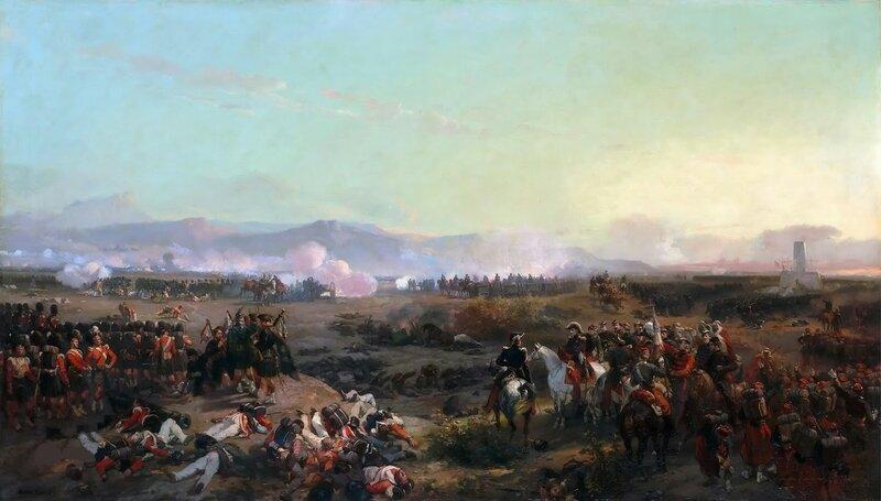 """Эжен-Луи Лами. """"Битва при Альме 20 сентября 1854 года"""""""
