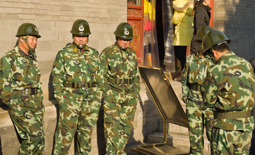 Фото. Возможного военного противника нужно знать в лицо. Отдых в Китае. Поездка в Пекин самостоятельно
