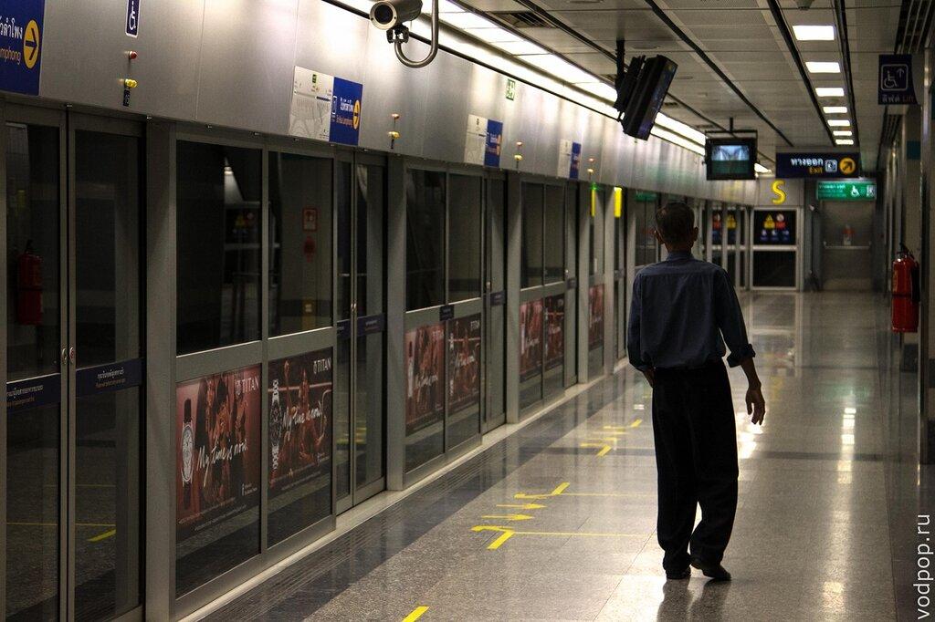 Подземное метро MRT Бангкок