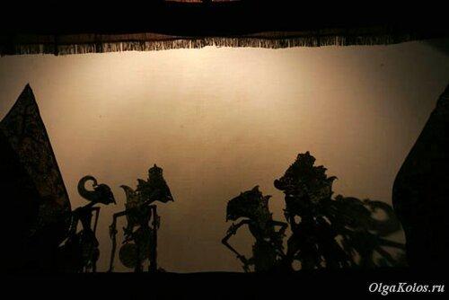 Театр теней и кукол Wayang Kulit в Джокьякарте