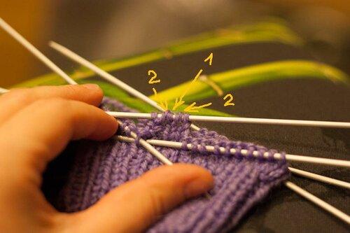 针织教程:手套 - maomao - 我随心动