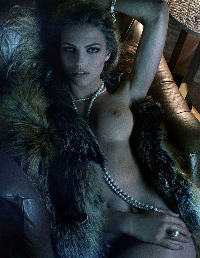 Богини и их сексуальность / Karlina Caune - The Goddesses by Fabien Baron
