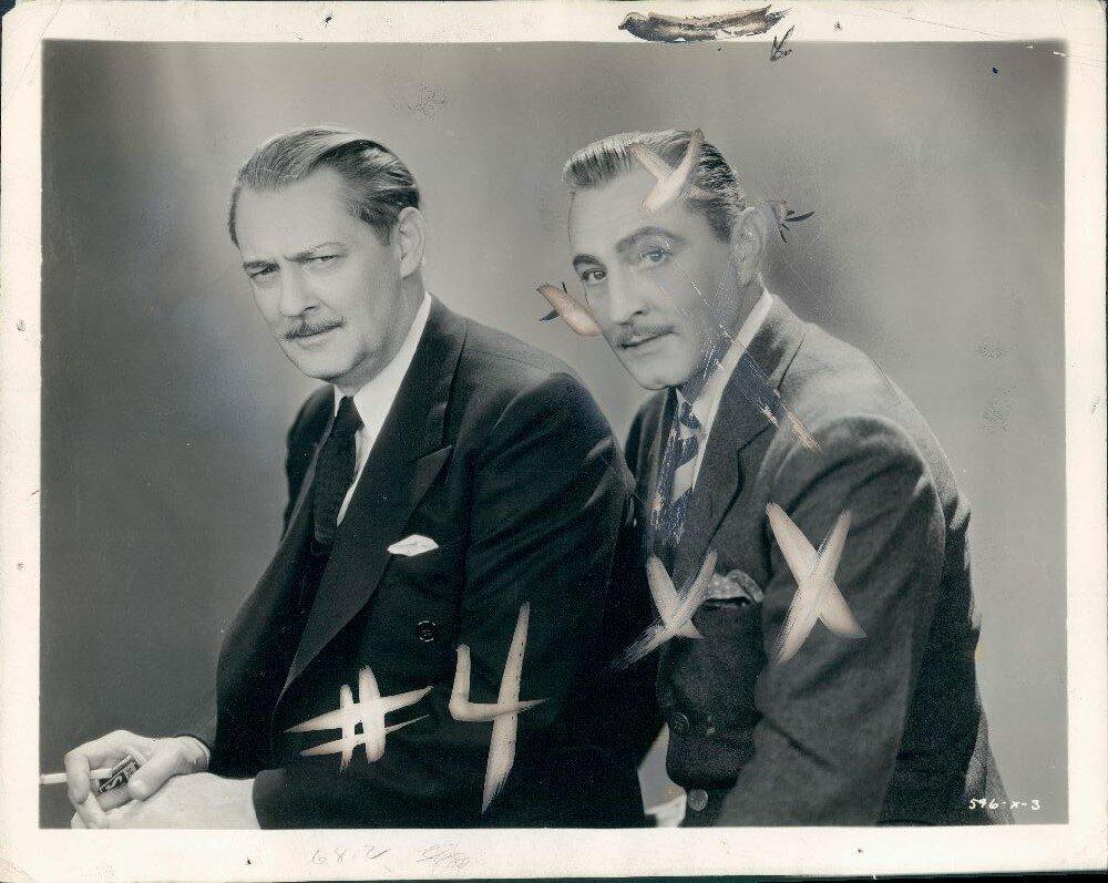 1933. Джон и Лайонел Бэрриморы