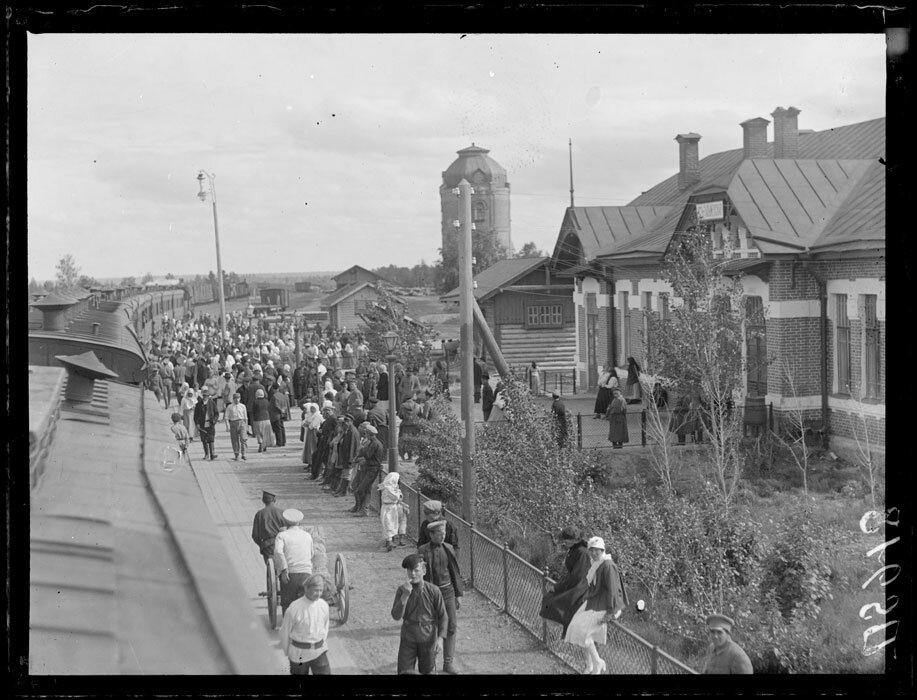 1919. Лето. Станция Бийск