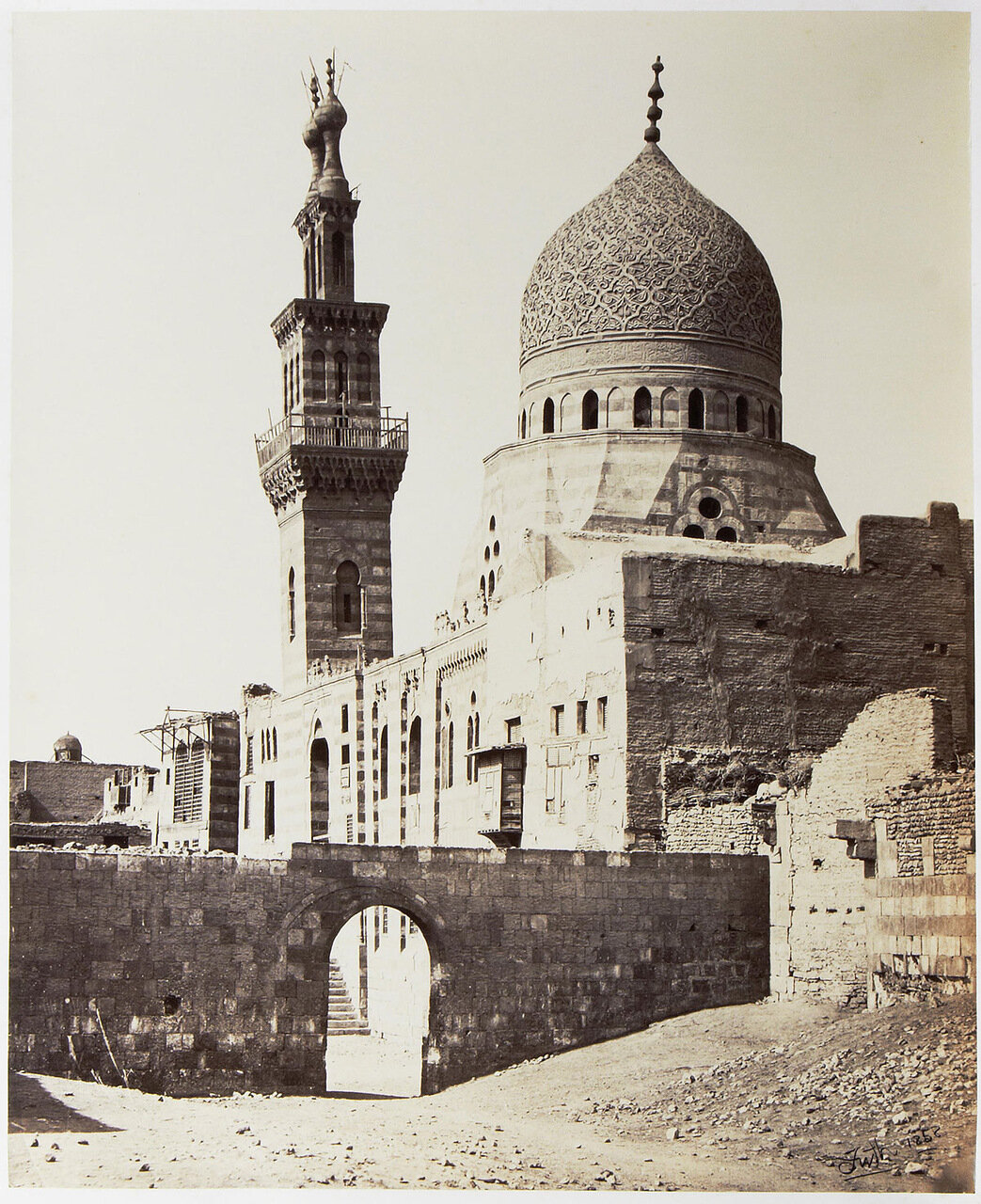 Каир в 1858 году