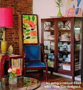 multicolour room design