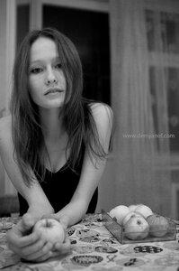 Яблоки фотосессия, Misty, портрет