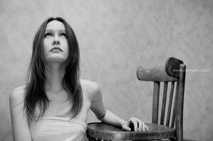 и снова этот стул портрет, Misty, фотосессия, девушка