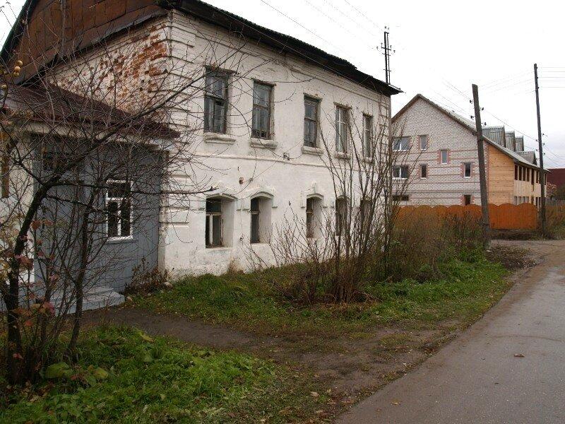 Дом, где возможно останавливался Петр I, ул.Ярославская