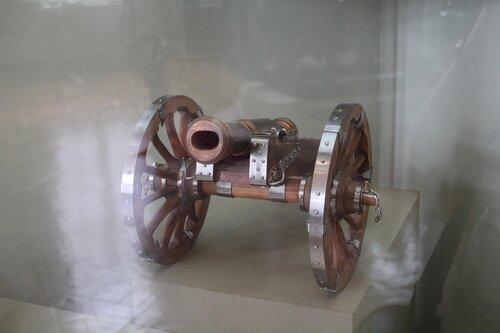 Модель-реконструкция полевой гаубицы образца 1758 г. системы П.И.Шувалова