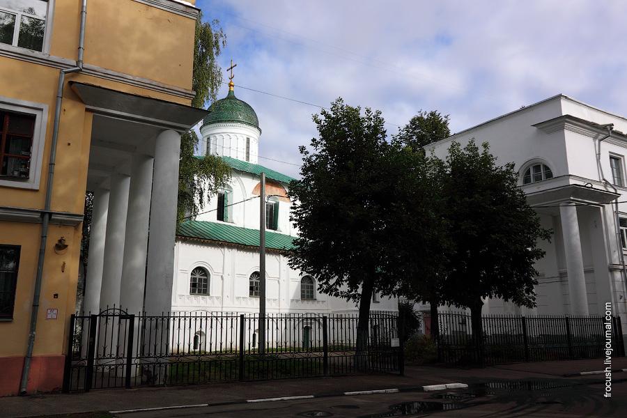 Церковь Николая Чудотворца (Никола Надеин) в Ярославле