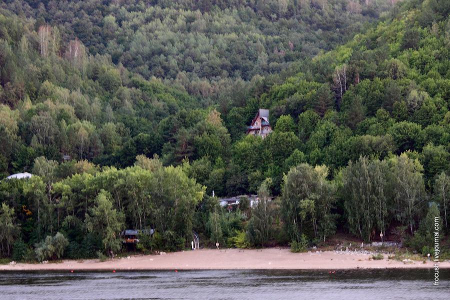 Национальный парк «Самарская Лука», подножье Жигулевских, турбаза «Полет».