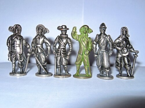 мушкетеры westair