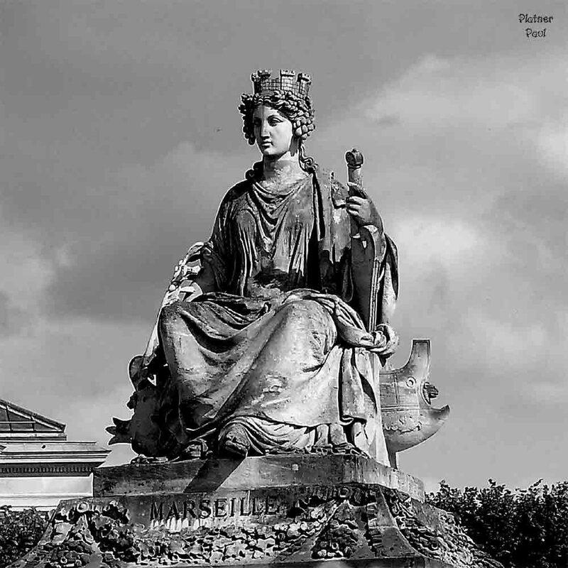 Аллегория Марселя на площади Согласия