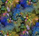 необычный,цветочный фрактал