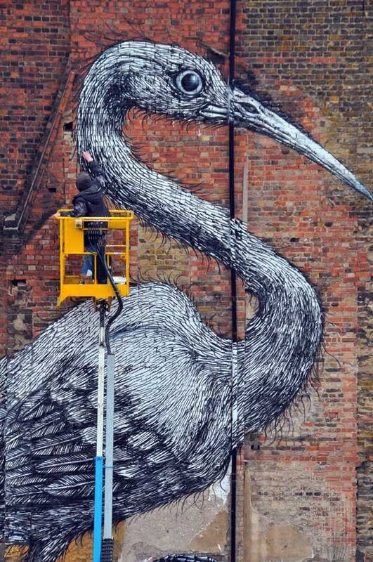graffiti art Roa