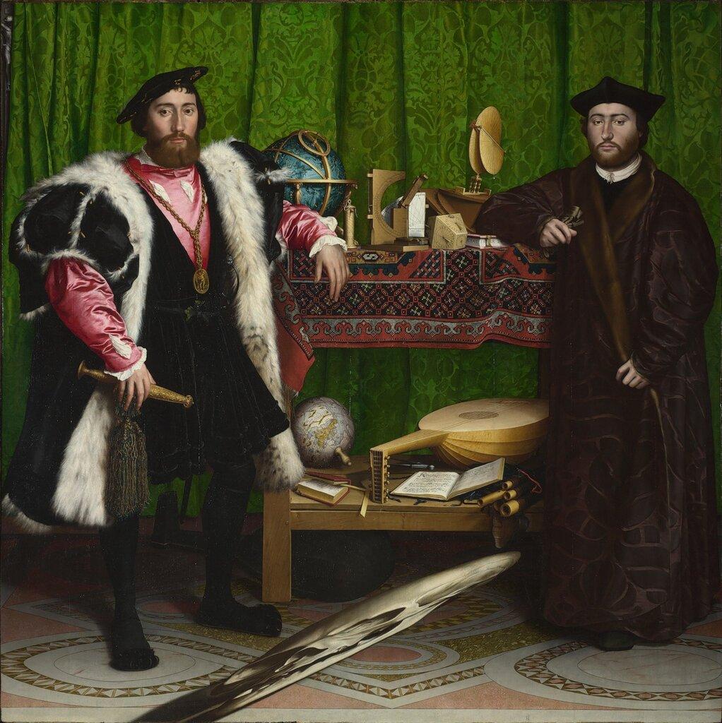 Hans HOLBEIN The Ambassadors 1533