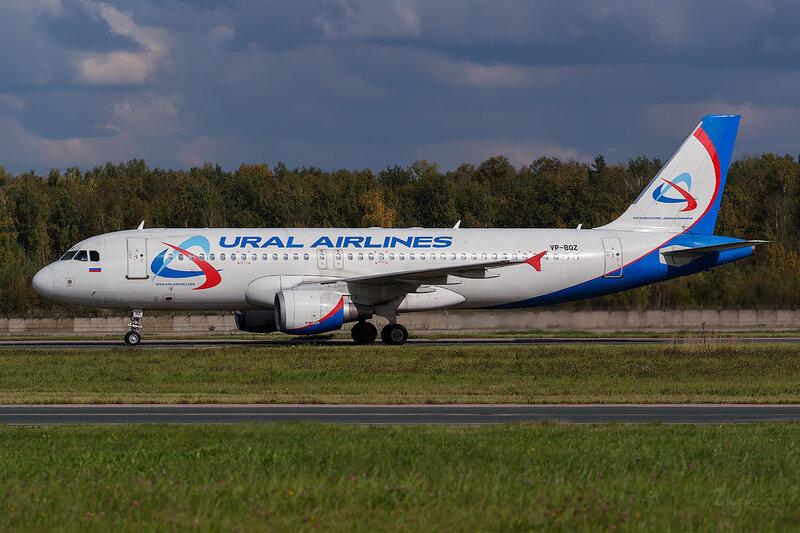 Airbus A320-211 (VP-BQZ) Уральские Авиалинии D802769