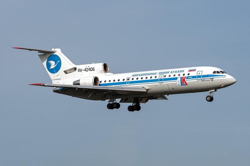 Яковлев Як-42Д (RA-42406) Авиационные Линии Кубани DSC_3592