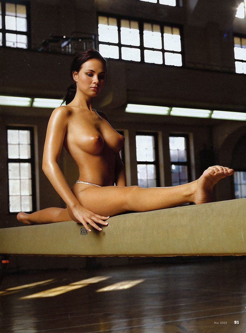 Спорт гимнастика и порно 8 фотография