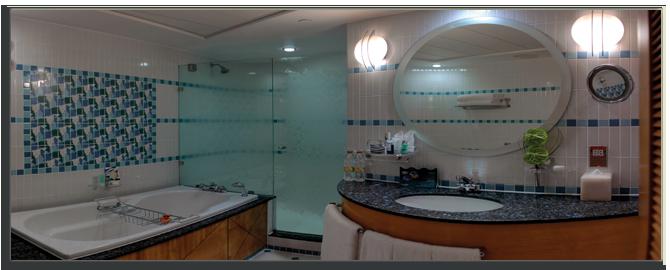 ОАЭ. Дубаи. Jumeirah Beach Hotel. Ocean Deluxe Bathroom