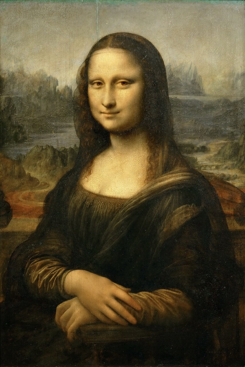 фото картины лувра