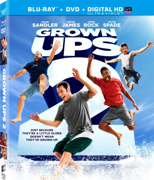 Одноклассники 2 / Grown Ups 2 (2013) BD-Remux + BDRip 1080p/720p + HDRip + AVC