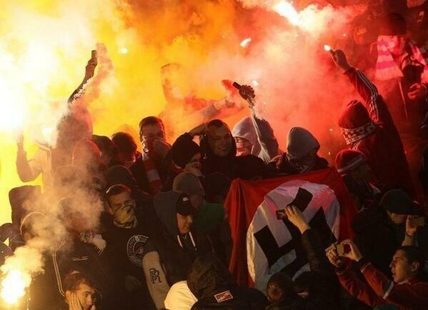Главный тренер Спартака рассказал о фашистском флаге
