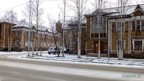 Фото города Инта №6138  Кирова 34 и 32 10.11.2013_12:56