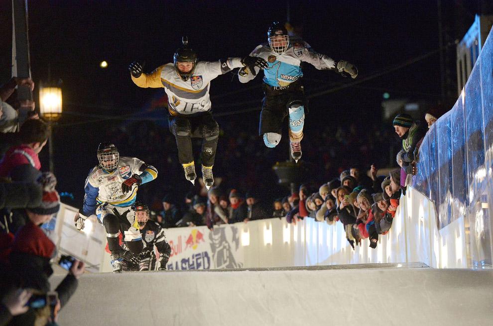 10. Соревнования в историческом квартале Квебека, 1 марта 2007. (Фото Laetitia Deconinck):