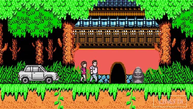 Spirited Away – The cult movie of Hayao Miyazaki summarized in 8-Bit