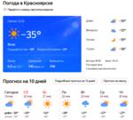 В Красноярске на Крещение минус 35, а ощущается как минус 39.  А  во все проруби  -  очереди  ))))